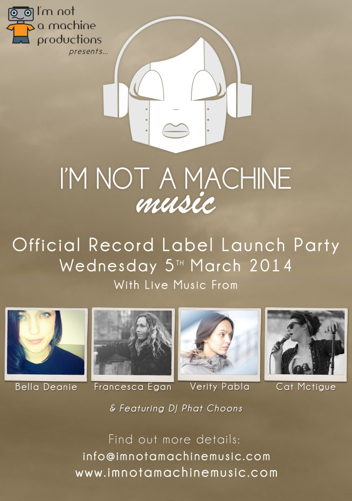 Official Label Live Launch Poster